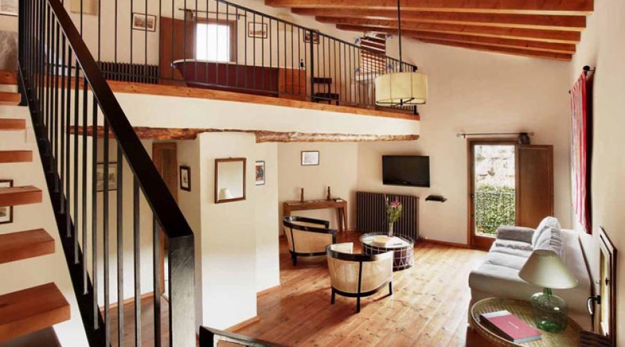 Rusticae Teruel Hotel Mas de la Serra con encanto salon