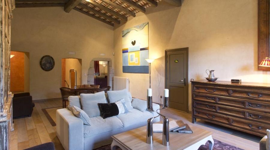Rusticae Hotel Girona Gerona con encanto Salón