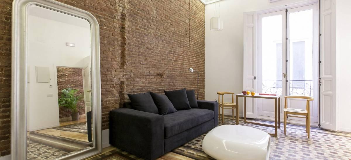 Rusticae Madrid Apartamentos Matute 11 con encanto Salon