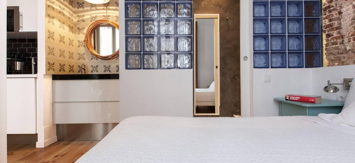 Rusticae Madrid Apartamentos Matute 11 con encanto Habitación