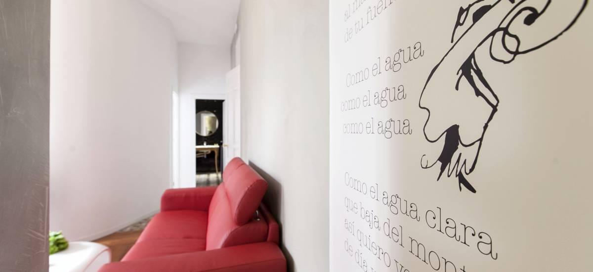 Rusticae Madrid Apartamentos Matute11 con encanto salon 2