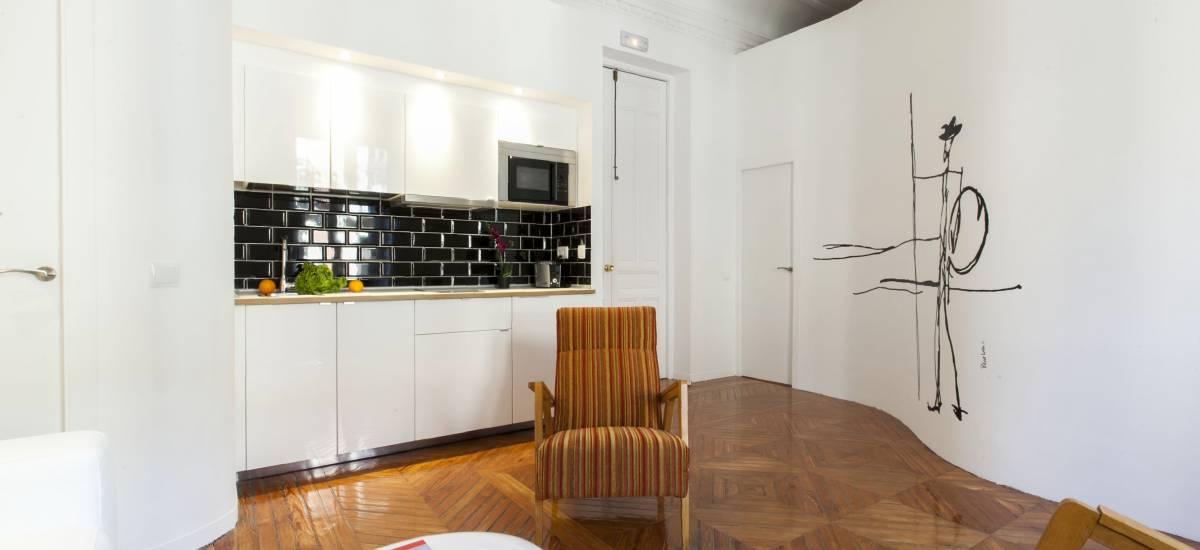 Rusticae Madrid Apartamentos Matute 11 con encanto Salon 3