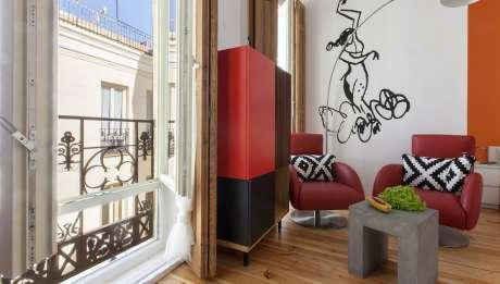 Rusticae Madrid Apartamentos Matute11 con encanto Salon