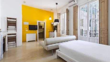 Rusticae Madrid Apartamentos Matute11 con encanto Habitación