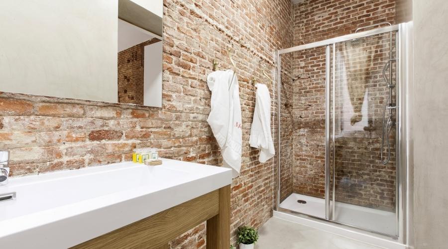 Rusticae Madrid Apartamentos Matute11 con encanto Baño