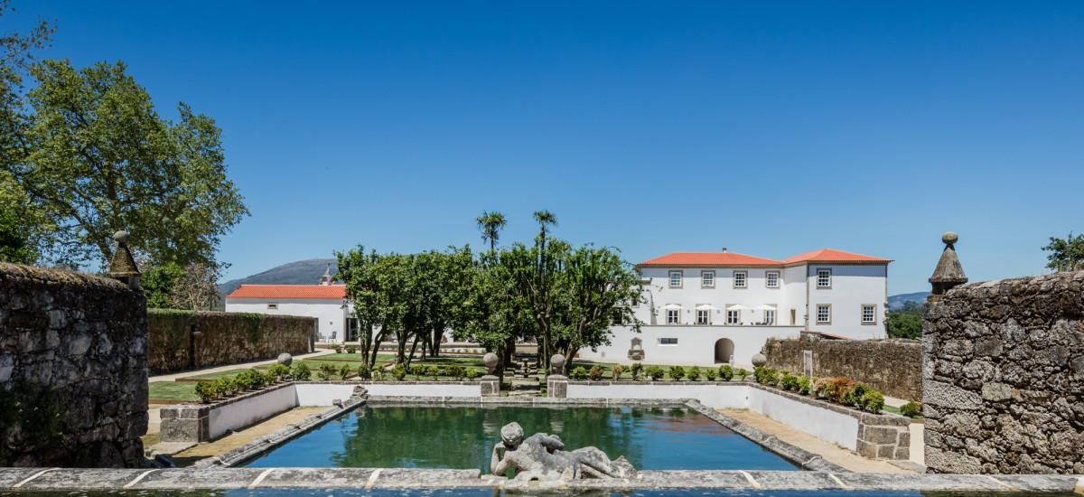 Paço de Vitorino Hotel Rusticae jardin
