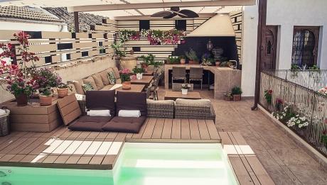Rusticae Hotel Córdoba con encanto Terraza Piscina