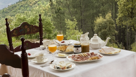Rusticae Huelva Hotel con encanto Desayuno