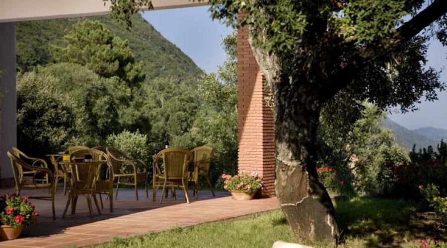 Rusticae Huelva Hotel con encanto Terraza