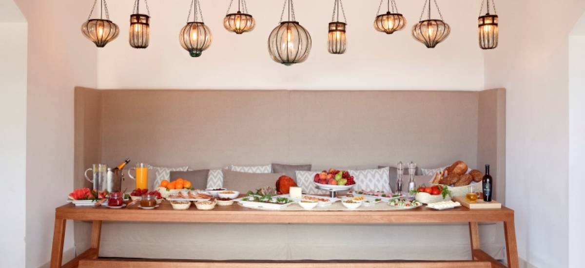 Rusticae Mallorca charming Hotel Predi Son Jaumell dining room