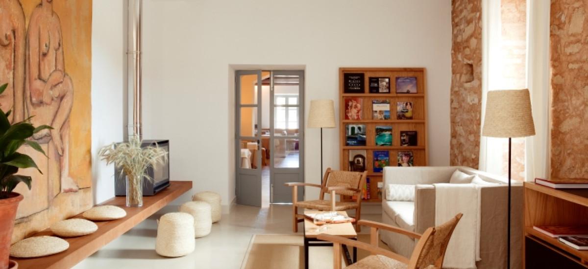 Rusticae Mallorca charming Hotel Predi Son Jaumell living room
