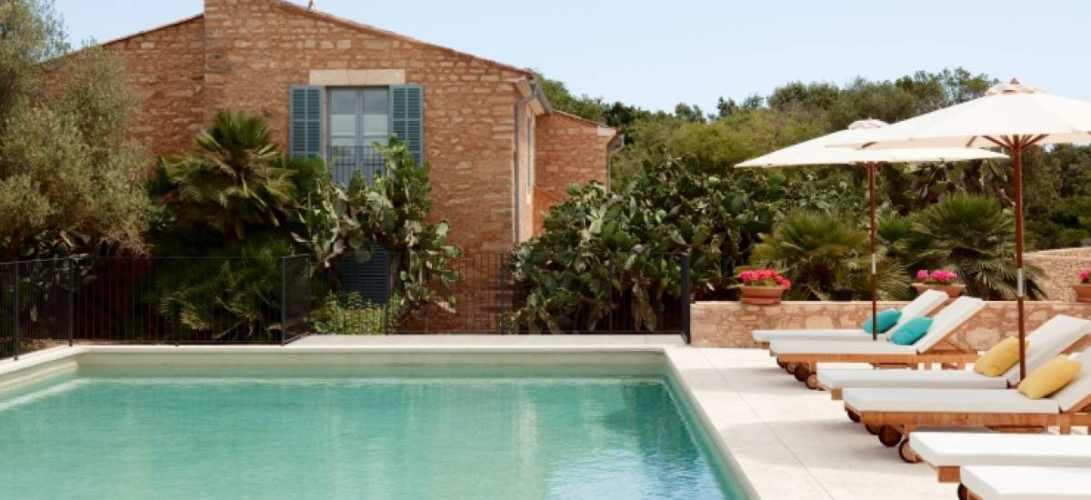 Rusticae Mallorca charming Hotel Predi Son Jaumell swimming pool
