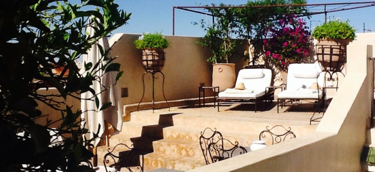 Rusticae Marruecos Hotel Riad Abracadabra charming terrace