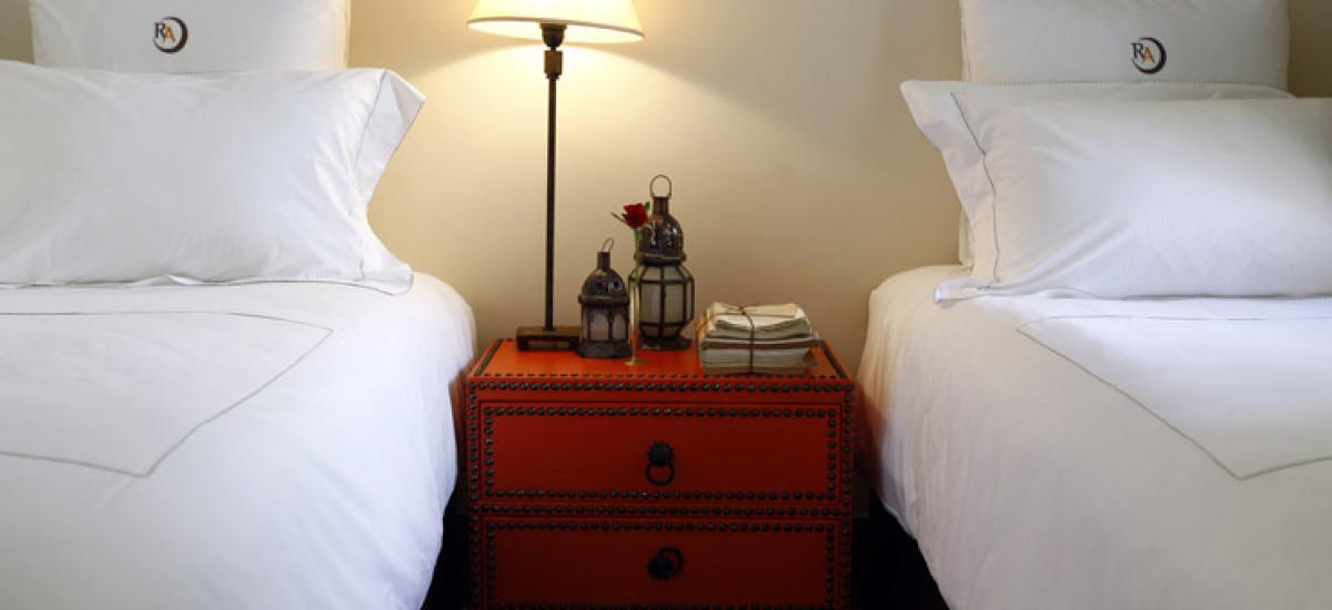Rusticae Marruecos Hotel Riad Abracadabra de lujo habitación
