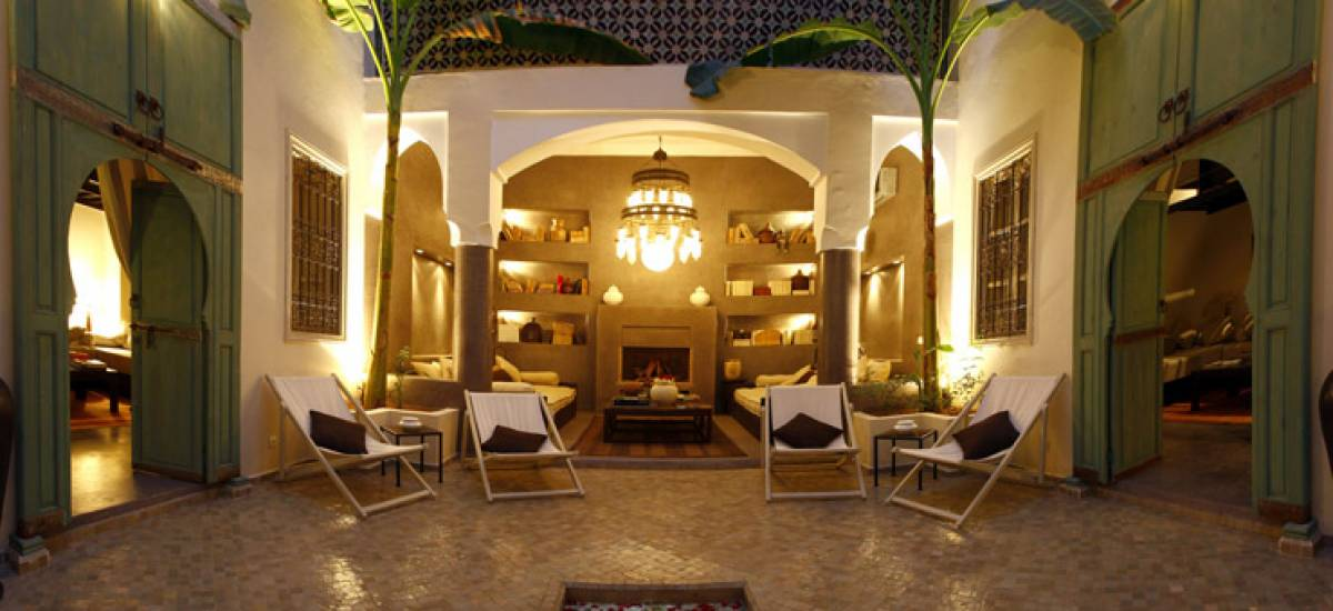 Rusticae Marruecos Hotel Riad Abracadabra charming common area