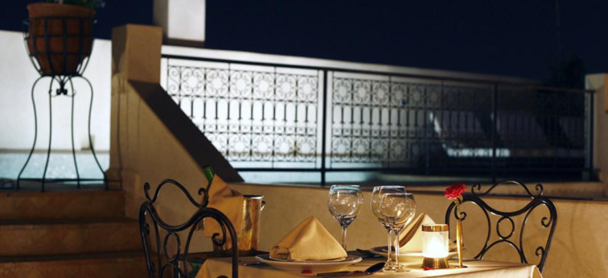 Rusticae Marruecos Hotel Riad Abracadabra charming dining room