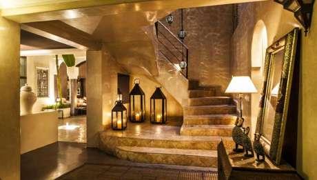 Rusticae Marruecos Hotel Riad Abracadabra zona común