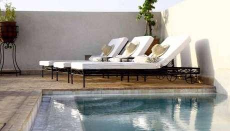 Rusticae Marruecos Hotel Riad Abracadabra piscina