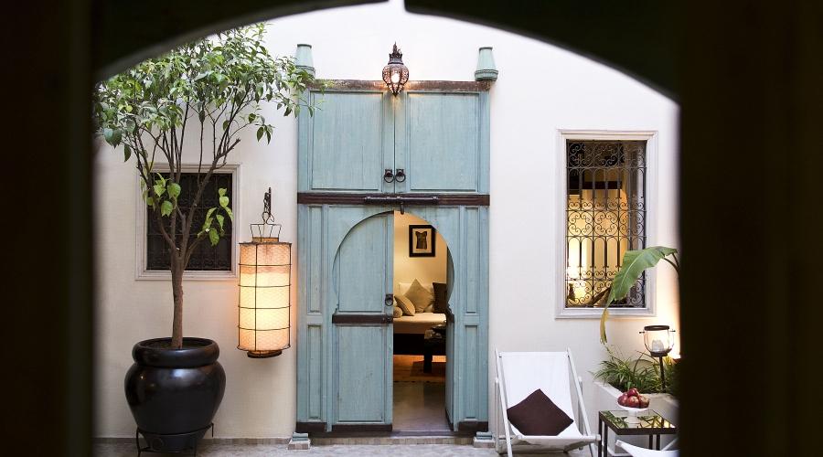 Rusticae Marruecos Hotel Riad Abracadabra terraza