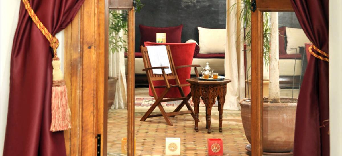 Rusticae Marruecos luxury Hotel Riad Belle Epoque common area