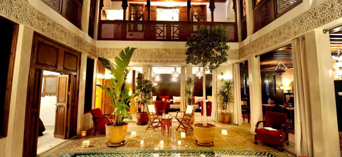 Rusticae Marruecos Hotel Riad Belle Epoque de lujo descripción