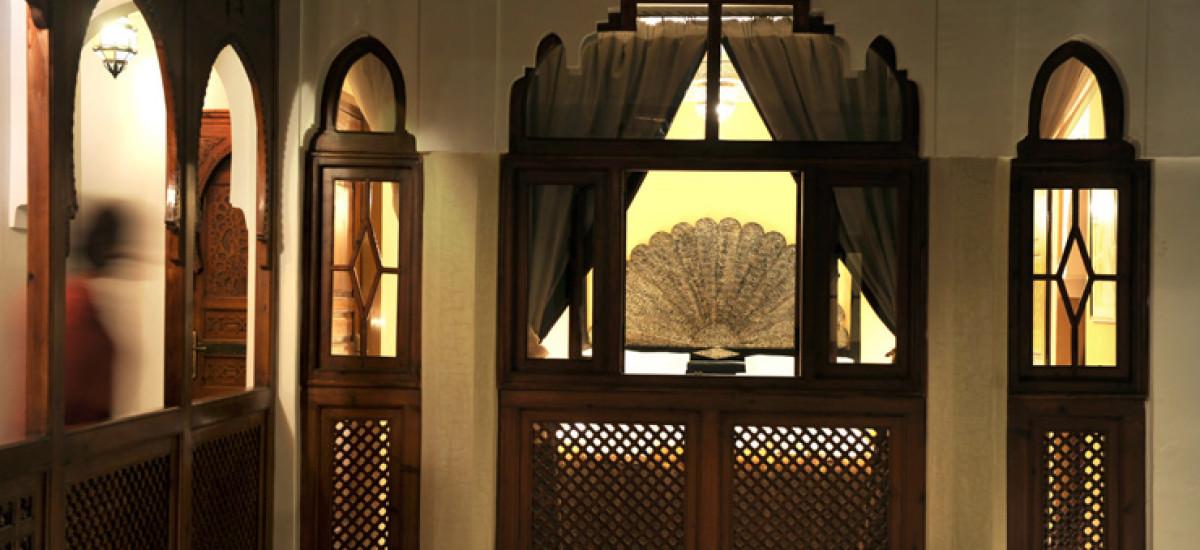 Rusticae Marruecos Hotel Riad Belle Epoque de lujo Zona común