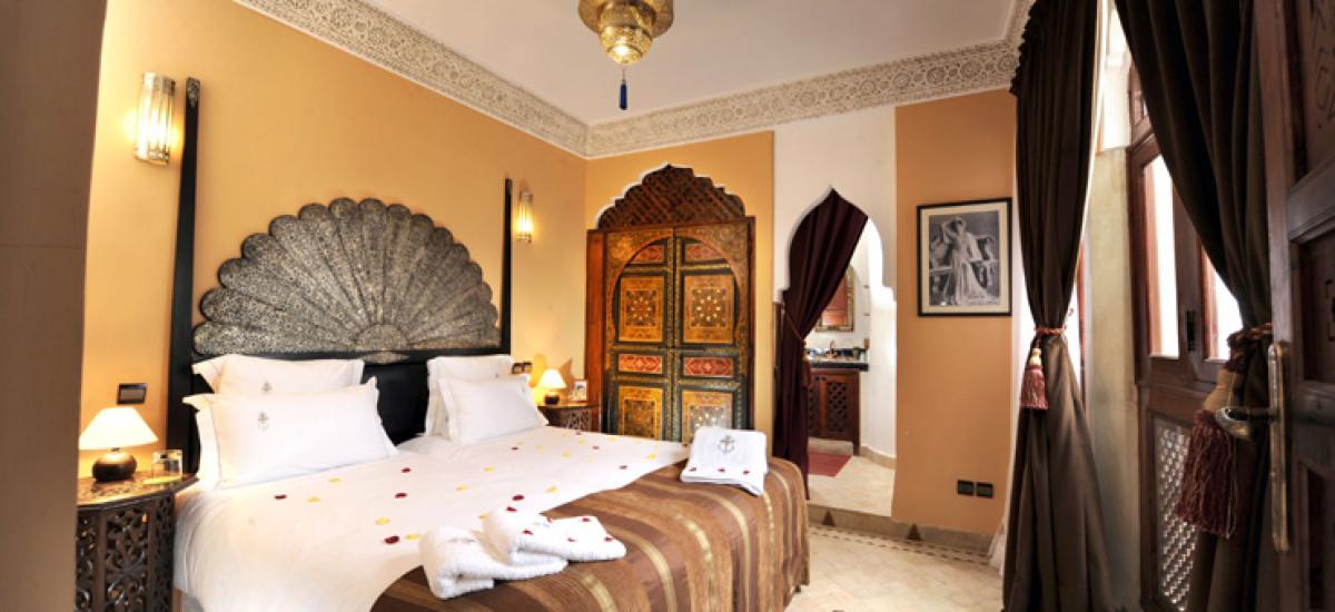 Riad Belle Epoque de lujo Habitación