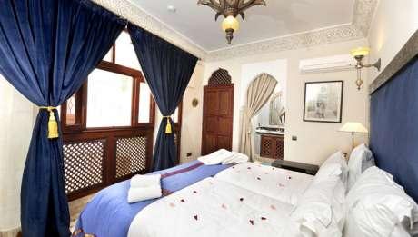 Rusticae Marruecos Hotel Riad Belle Epoque de lujo Habitación