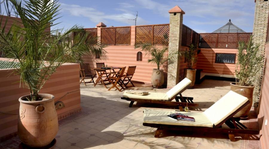 Rusticae Marruecos Hotel Riad Belle Epoque de lujo Piscina