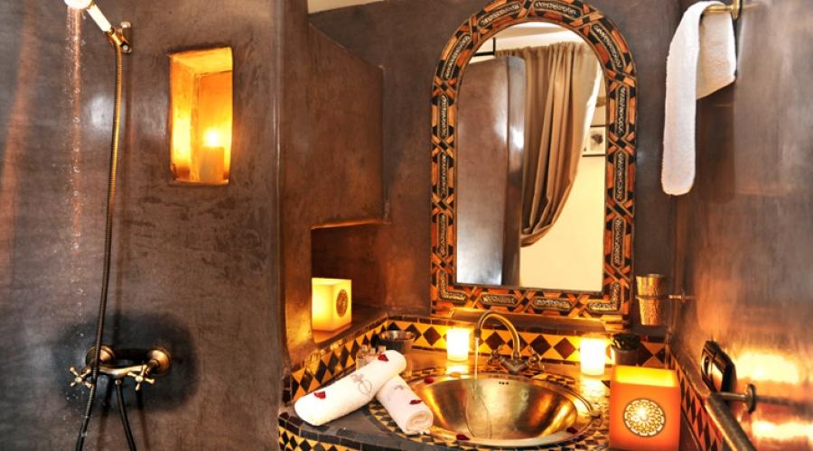 Rusticae Marruecos Hotel Riad Belle Epoque de lujo Baño