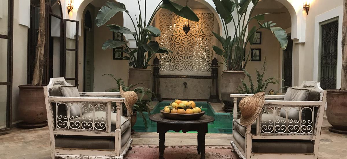 Riad Palacio de las Especias Hotel terraza