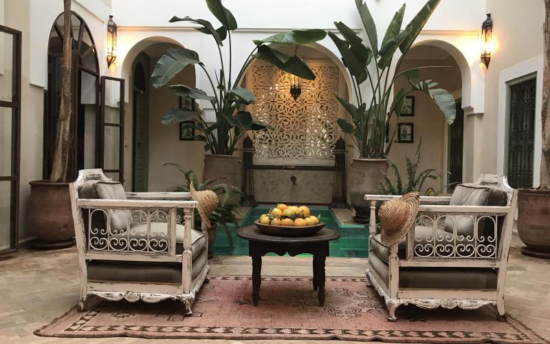 Riad Palacio de las Especias Hotel terrace