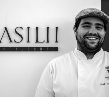 Filipo Ramalho es el joven chef de Basilii