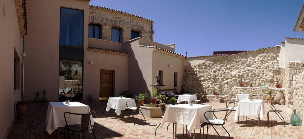 Torre Maestre Hotel Rural Rusticae terraza