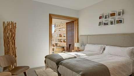 Rusticae Tarragona Hotel Trossos del Piorat de vino Habitacion