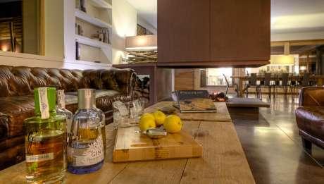 Rusticae Tarragona Hotel Trossos del Piorat de vino Zona comun