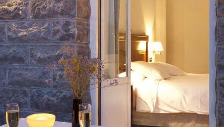 Rusticae Gipuzcoa Hotel con encanto Terraza Habitación