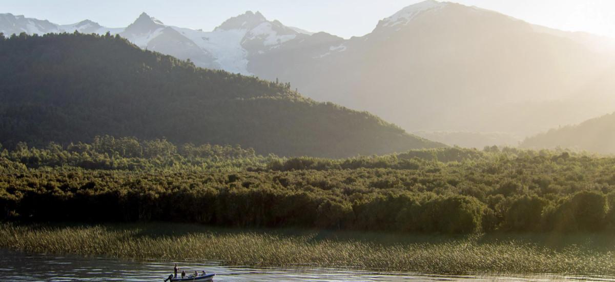 Yelcho Hotel en la Patagonia