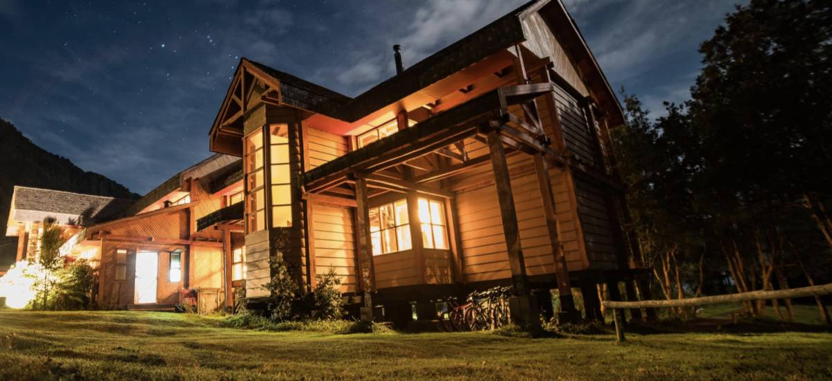 Yelcho Hotel in Patagonia Landscape Yelcho Lake Hotel