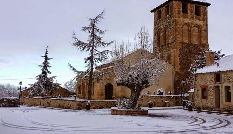 Sotosalbos Segovia Turismo que ver hacer Iglesia de san miguel