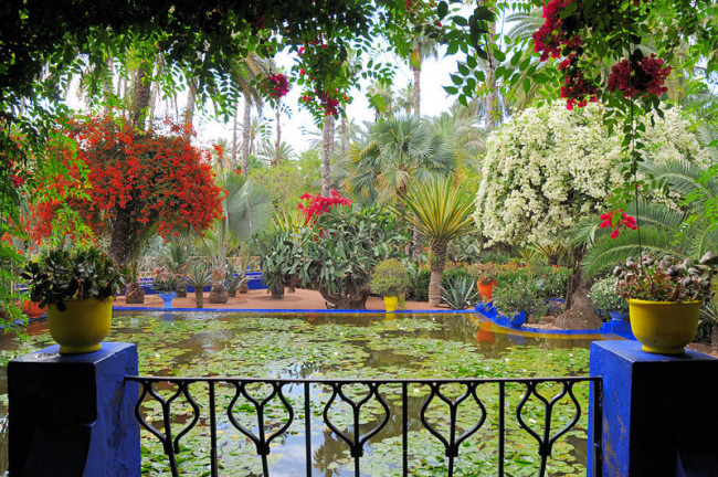 El Jardín de la Menara en Marrakech