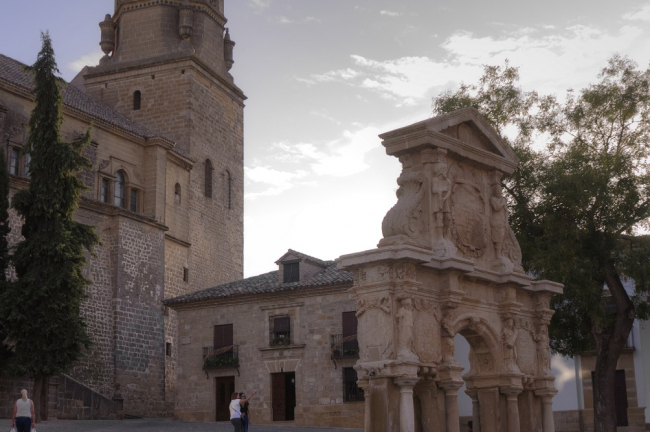 Plaza de Santa María (Baeza)