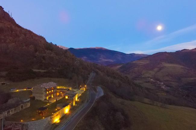 Vall de Núria dónde dormir Hoteles
