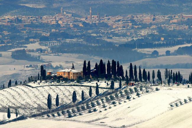 Navidad en familia en la Toscana