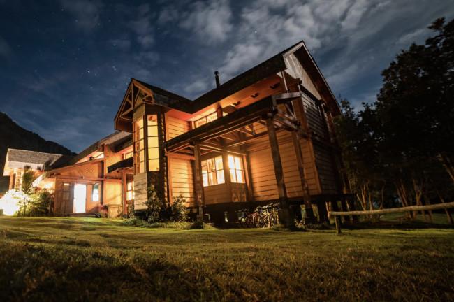 Yelcho Hotel en la Patagonia (Chile)