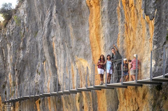 Sierra de Guara en familia