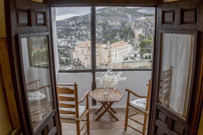 Una habitación con vistas en Cuenca