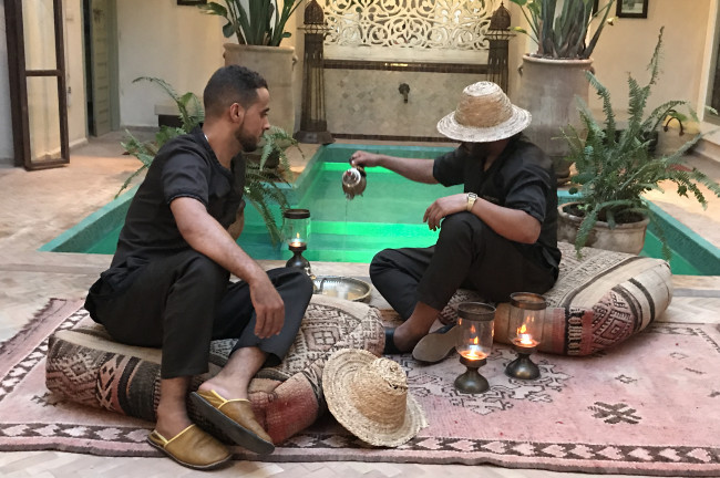 Dormir en Marrakech