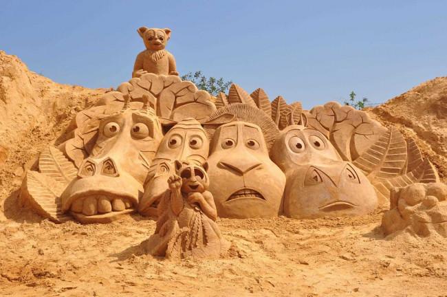 Festival Internacional de Escultura de Arena Fiesa (Algarve)