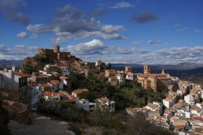 Vilafamés desde el Hotel Vertical, un pueblo de cuento (Castellón)